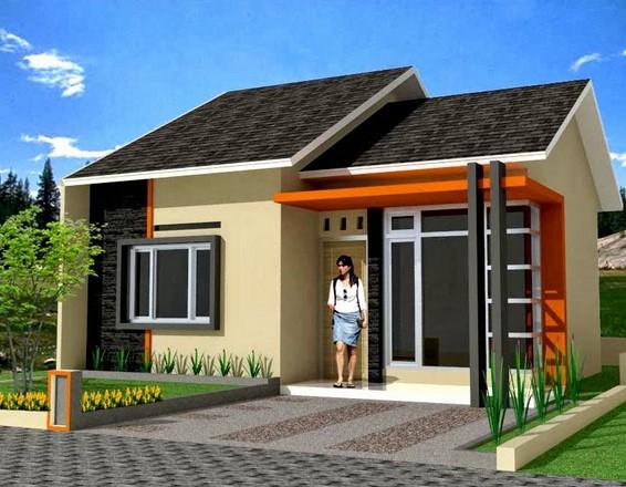 desain teras rumah minimalis type 45