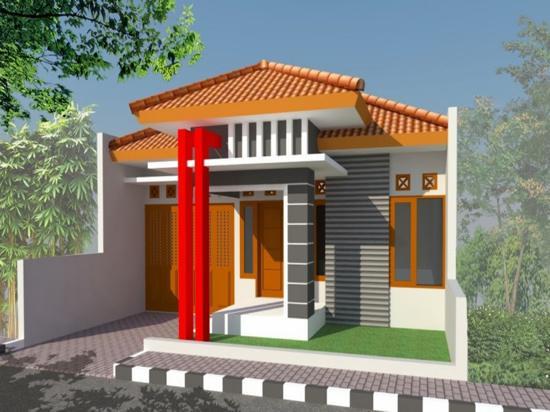 Teras Rumah sederhana type 60