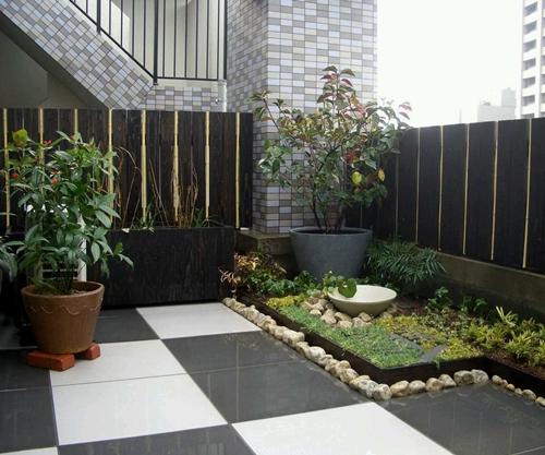 Contoh Desain Keramik Teras Rumah Minimalis