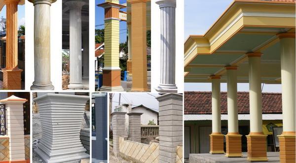 Bentuk Tiang Teras Rumah Minimalis