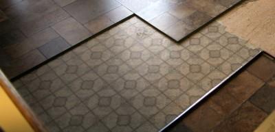 Desain lantai keramik teras Rumah Minimalis