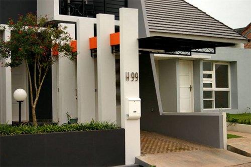 Model Tiang Teras Rumah Sederhana
