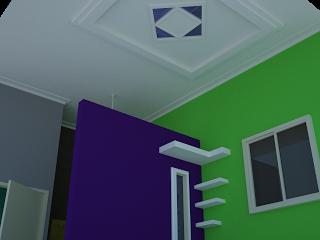 Contoh Foto Plafon Teras Rumah Minimalis Modern Terbaru