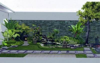 Gambar Taman Depan Rumah Model Minimalis
