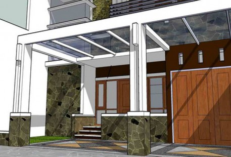 Tips Renovasi Teras Rumah Model Minimalis Masa Kini