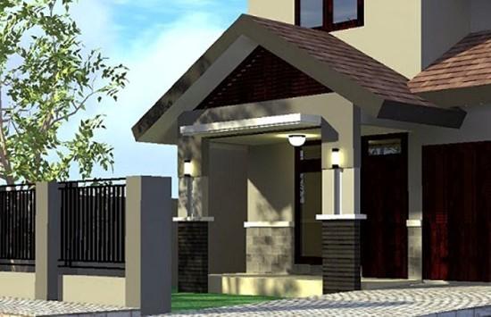 Desain Atap Teras Rumah Model Minimalis 2015