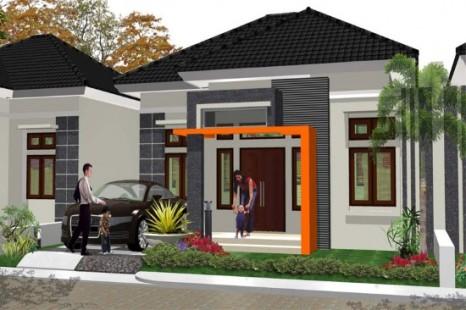 Desain Teras Rumah Tipe 60 Model Minimalis