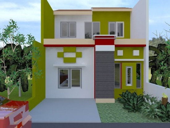 Tips Memilih Warna Cat Rumah Model Minimalis