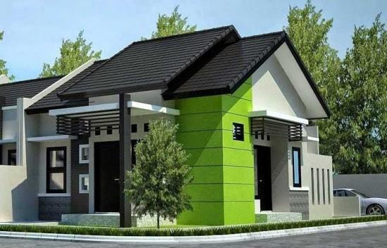 Gambar Model Teras Rumah Cor Gaya Minimalis