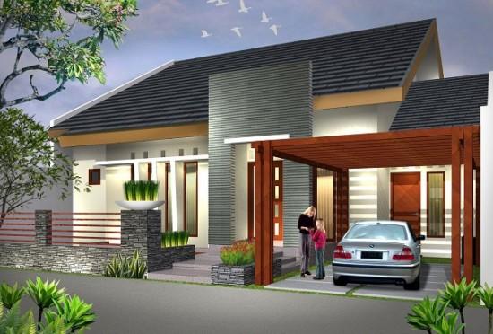 Desain Teras Rumah Klasik Minimalis