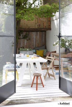 Meja Kursi Minimalis Untuk Teras Rumah Bergaya Minimalis