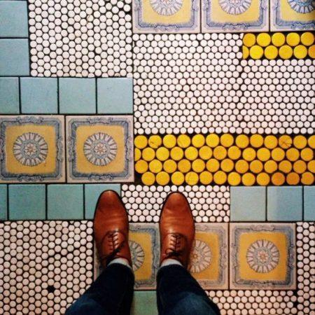 Ceramic Floor Terrace Minimalism