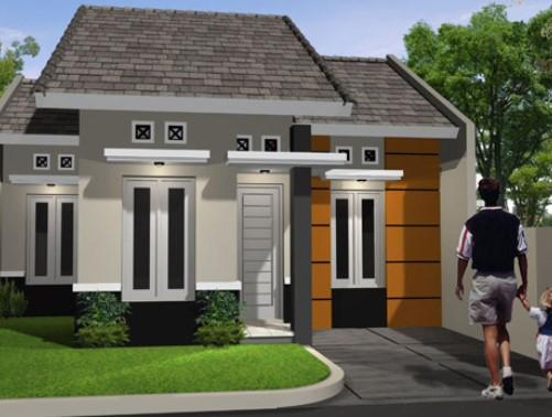 Contoh Gambar Teras Rumah Minimalis type 45