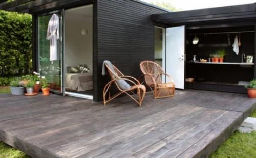 Gambar teras rumah type 54 model minimalis