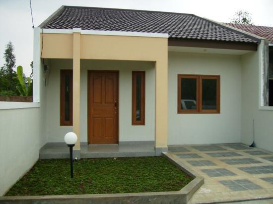 teras rumah minimalis modern type 60