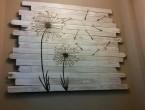 papan kayu hiasan dinding teras rumah