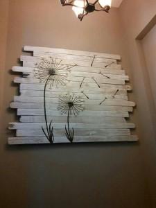 √ hiasan dinding teras rumah minimalis