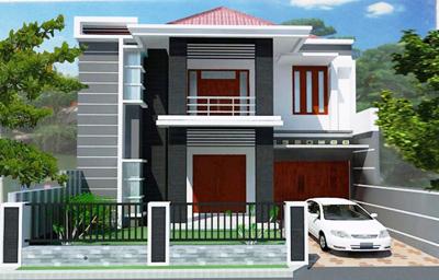 Teras Rumah Minimalis 2 Lantai dan 3 lantai