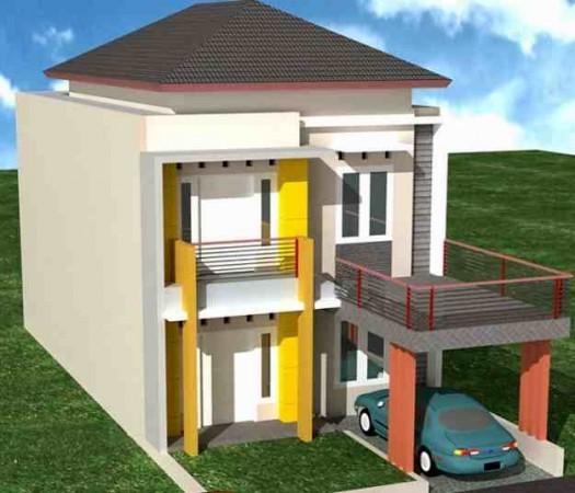 Contoh Pagar Untuk Teras Rumah Lantai Dua