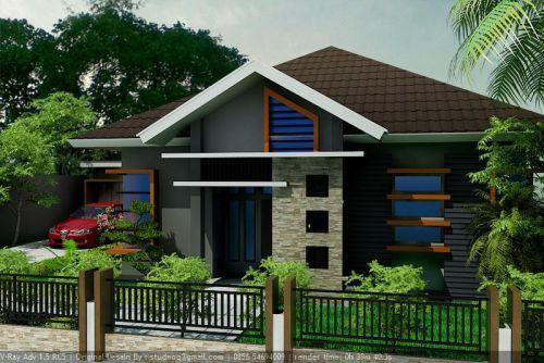 Gambar Desain Teras Rumah Satu Lantai Model Minimalis