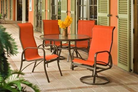 Meja Kursi Alumunium Untuk Teras Rumah