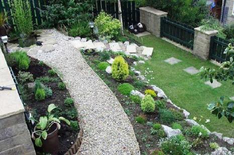 Taman Rumah Minimalis Modern Lahan Sempit