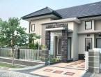 Contoh Desain Teras Rumah Cor Minimalis