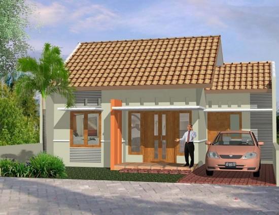 Contoh Gambar Desain Teras Rumah Klasik Modern