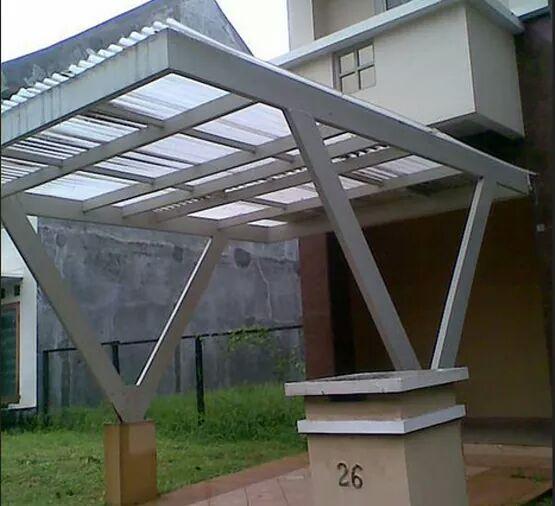 Contoh Gambar Model Kanopi Rumah Minimalis 11