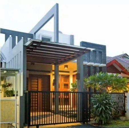 Contoh Gambar Model Kanopi Rumah Minimalis (34)